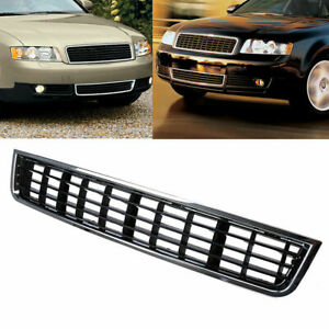 For Audi A4 B6 Sedan 2002-2005 04 Front Bumper Center Grille Grill Cover 1luFY5