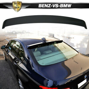 Fits 11-16 BMW F10 5-Series H Style Roof Spoiler - ABS