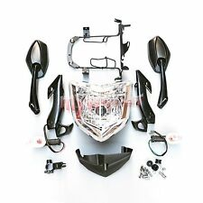 Headlight Set Head Light Assembly For Yamaha FZ1N 2006-2009 2007 2008 Motorcycle