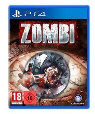 PS4 jeu Zombi PRODUIT NEUF