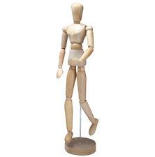 "JAKAR 16"" Artists Wooden Manikin Mannequin  Lay Figure ( Moveable / Bendy Man )"
