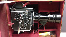 Paillard Bolex H16 Reflex Camera, 4 lenses, Kern, Switar, Pan Cinor, TONS of Xrt