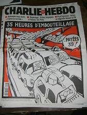 Charlie Hebdo N°267 30/7/97 Caricature Cavanna Wolinsky Cabu Charb Luz 35 HEURES