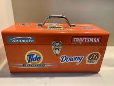 Metal Orange Tool Box - Heavy Duty Tools Parts Equipment Organizer - FAST SHIP