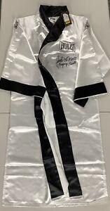 Jake LaMotta Signed Robe Everlast Boxing Autograph Raging Bull Inscription JSA