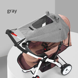 Baby Stroller Sun Visor Pram Buggy Carriage Shade Canopy Cover Seat Protection