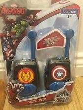 Lexibook Marvel Avengers Walkie Talkie 2km gamma Nuova