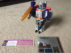 Transformers G1 Galvatron COMPLETE - WORKS!