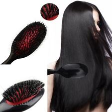 Professional Hair Extension Brush Nylon & Boar Bristle Oval Cushion Ontvx OqRnV