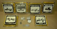""".. Woodland Scenics Details ... """"Assortment of (7) HO Old Fashioned Vehicles"""""""