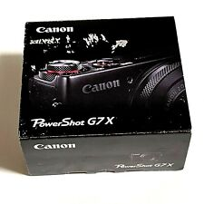 Canon PowerShot G7 X Mark I, 20.2MP Digital Camera Black FOR REPAIR PLEASE READ