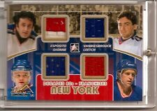 2010-11 ITG Decades Rangers Franchises Espo Leetch  GUJ F-12 Summit 1/1 (H-0345)