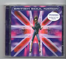 (JF383) British Soul Nation, 36 tracks various artists - 1998 double CD