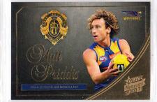 2015 AFL SELECT HONOURS 2 BROWNLOW MEDALLIST WESTCOAST MATT PRIDDIS MW1 CARD