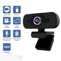 Genuine 1080P Autofocus HD Webcam Web Camera Microphone USB PC Desktop Laptop