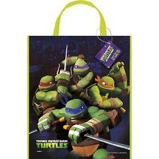Teenage Mutant Ninja Turtles Loot Favors Party Tote Bag 11 x 13 inches
