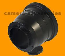 Pentacon 6 Six P6/Kiev 60 Lente Sony Montaje NEX Adaptador E Anillo Alpha