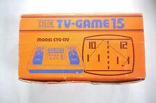 Nintendo color TV-GAME 15 1977 Boxed manual WORKING! Japan import