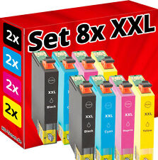 8x SET PATRONEN für EPSON Stylus S22 SX125 SX130 SX230 SX235W SX430 SX445