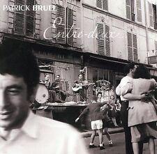 """PATRICK BRUEL """"ENTRE DEUX"""" RARE 2002 ORIGINAL USA 2CD ALBUM"""