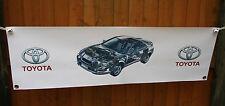 Toyota gt4 st205 gran tienda de trabajo de PVC Banner garaje mostrar Banner Cueva de hombre