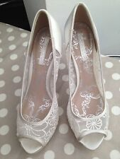 High Heel (3-4.5 in.) Satin NEXT Bridal Shoes