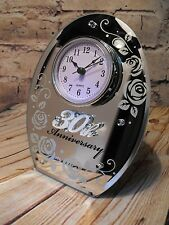 30TH WEDDING ANNIVERSARY GIFT PEARL WEDDING CLOCK GIFT 30TH WEDDING PRESENT GIFT