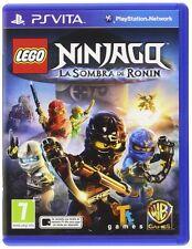 LEGO NINJAGO LA SOMBRA DE RONIN PS VITA TEXTOS EN CASTELLANO NUEVO PRECINTADO