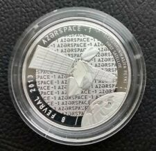 5 MANAT AZERBAIJAN 2015  SILVER COIN PROOF First Satellite Azerspace