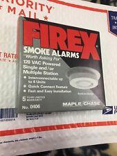 Firex 406 AC Smoke Alarm Detector same as model 41216  , type GC detectors