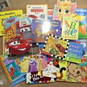 Lot of 20 - Board Books for Children's/ Kids/ Toddler/ Babies/Preschool/Daycare