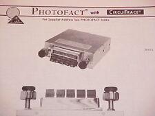 1971 ASTRO LINE AM-FM RADIO SERVICE MANUAL CR-800 CHEVROLET FORD CHRYSLER DODGE