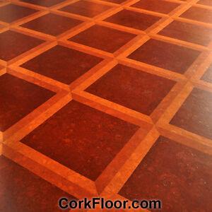 Cork Wood Floor Samples -Beautiful Colors