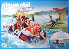 Playmobil 9435 Luftkissenboot mit Unterwassermotor Schatzsucher Dino Eier  NEU