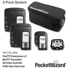 PocketWizard TTL Wireless Radio 5 Pack for Canon