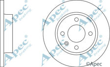 FRONT BRAKE DISCS (PAIR) FOR VW CADDY GENUINE APEC DSK247