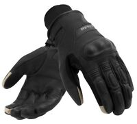 GUANTI GLOVE MOTO REV'IT REVIT BOXXER H2O IMPERMEABILI PELLE LEATHER NERO TG XXL