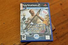 Medal of Honour Rising Sun Sony Playstation 2 PS2 Game VGC with Manual