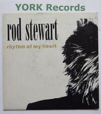 "Rod Stewart-ritmo de mi corazón-ex con 7"" SINGLE Warner Brothers W 0017"