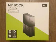 WD My Book 8 TB Desktop Hard Drive PC/MAC - Black