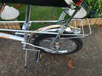 NOS Raleigh chopper rear 20 inch tyre as shown on bike.Auction for  tyre only