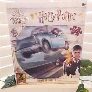 HARRY POTTER 3D PRIME PUZZLE 500 PIECES NEW