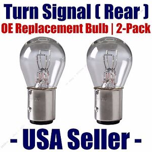 Rear Turn Signal Light Bulb 2pk - Fits Listed Opel Vehicles - 1157