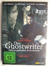 DER GHOSTWRITER - DVD - PIERCE BROSNAN EWAN McGREGOR OLIVIA WILLIAMS