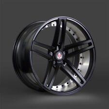 """NEW 20"""" AXE EX20 ALLOY WHEELS SATIN BLACK 5X120 BMW F10 F11 F12 F13 5 6 SERIES"""
