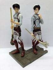 Attack on Titan Eren Yeager& Levi Official DXF Figure Cleaning Time BANPRESTO252