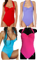 New Pain De Sucre Underwired Swimsuit Halter Neck & Strapless Bathing Suit Kimy