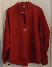 Mizuno pullover jacket shirt convertible long/short snap on/off sleeves 38-40 M