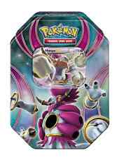 Tin Hoopa EX Power Beyond Pokemon TCG with 4 Booster Packs Trading Card Game