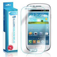 2x iLLumi AquaShield Crystal HD Screen Protector for Samsung Galaxy S3 mini GT